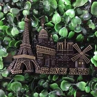 Paris souvenir ref magnet