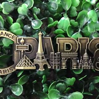 Paris souvenir ref magnet/bottle opener