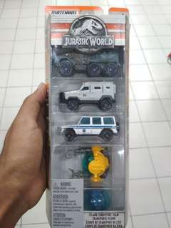 MATCHBOX Jurassic world Jurassic Park