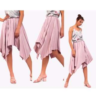 Caoros Pleated / Asymmetric Skirt