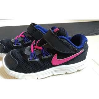 Nike Lunarglide 4 (TDV) 魔鬼氈 童鞋 小童鞋 9C 15cm 525373-003 男女可穿