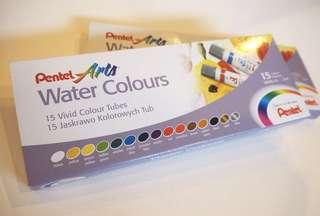 Pentel Watercolor 15colors