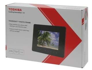 TOSHIBA FOTO FRAME BRAND NEW SEALED AT 150$ only