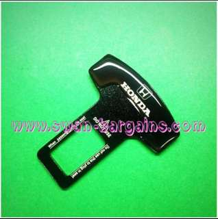 Honda Universal Car Safety Belt Buckle Key Clasp Clip Alarm Beeper Silencer Accord Civic Spada CR-V Grace Shuttle Mobilio Jade Jazz Fit Odyssey Freed