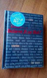 Ripley's Believe It Or Not Stories For Guys
