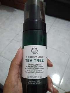 The Body Shop Tea Tree foaming cleanser