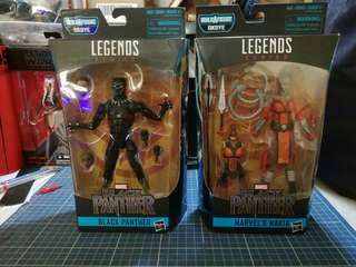 Marvel Legends Black Panther Wave BlackPanther and Nakia