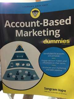 Account- Based Marketing for dummies