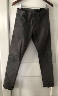 John Undercover Distressed Denim Pants
