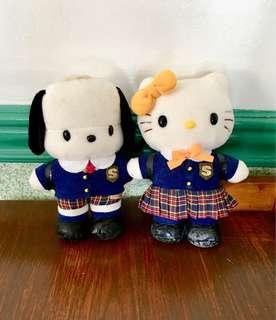 Original Sanrio Hello Kitty and Pochacco (bought in Japan)
