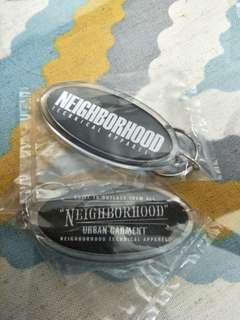 Neighborhood keychain
