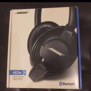 🚚 Bose AE2w Bluetooth Headphones 藍芽耳機 (黑色)