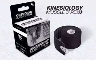 Kinesiology Sports Tape (Black)