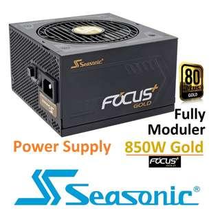 Seasonic FOCUS Plus SSR-850FX 850FX 850W 80+ Gold Full Modular ( 10 yrs Local Warranty ) ( JonnyGuru.com Recommend )