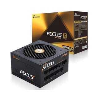 Seasonic FOCUS Plus SSR-650FX 650FX 650W 80+ Gold Full Modular ( 10 yrs Warranty )