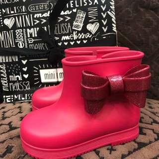 Mini Melissa Pink Boots