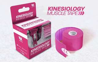 Kinesiology Sports Tape (Pink)