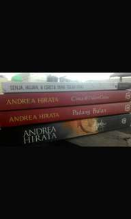 Original Novel Andrea Hirata dan Boy Chandra
