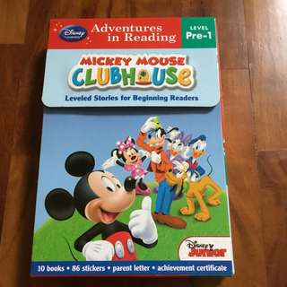Mickey Mouse clubhouse readers - set of 10 storybooks