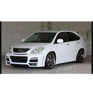 TOYOTA HARRIER ZUES BODY KIT FULL SET