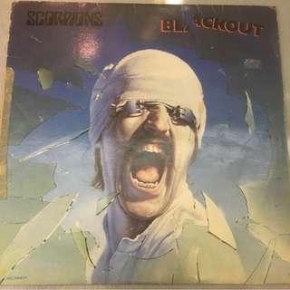 Scorpions – Blackout, Vinyl LP, EMI - EMCS 2042, 1982, Singapore