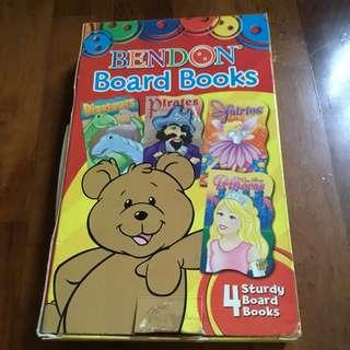 Board books - set of 4