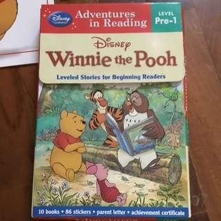 Winnie the Pooh readers - set of 10 storybooks