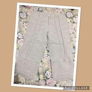 HW cotton 3/4 pants