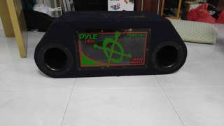 PYLE Twin sub woofer