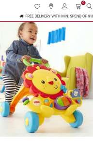 Brand new Fisher Price Walker Baby Toy