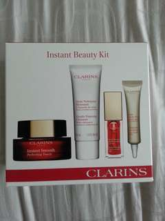 BNIB Clarins Instant Beauty Kit Skincare & Make-up Products
