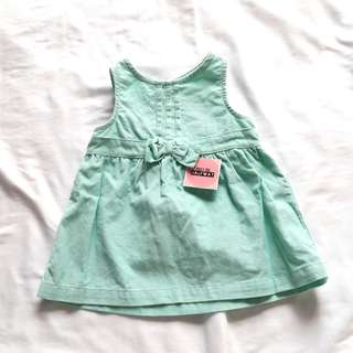 Carters Cute corduroy dress 0- 3 month old baby