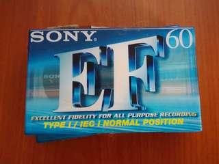 SONY C-60EFB cassette