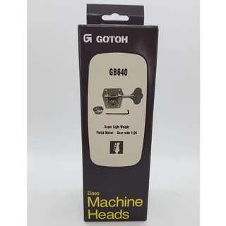 Gotoh GB640 Bass Machine Heads - Nickel (R4)
