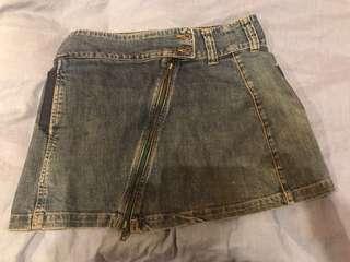 Billabong denim skirt