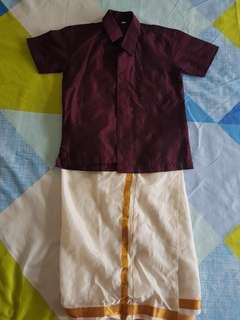 Indian Boy dress