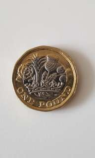 British One Pound Coin New Design Brand New