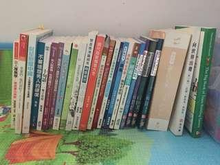 心靈書,商業書,頭痛,向世界出發,厚黑學,旅行書