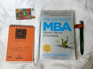 The Personal MBA book