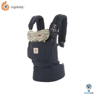 Ergobaby Baby Carrier Original | Sailor [BG-BCANVYBT]