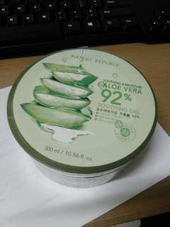 Nature republic 92% aloevera original korea