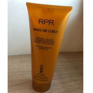 RPR Make Me Curly - curl enhancement styling cream