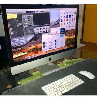 "iMac ""Core i7"" 4.0, 27-Inch (5K, Late 2015) 16GB, 256 SSD,"