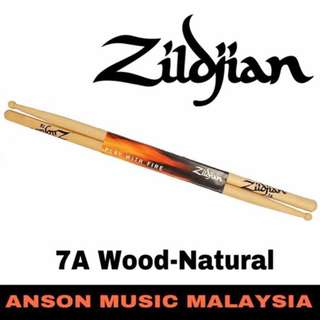 Zildjian 7A Wood-Natural Drumstick