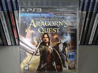 (New!) PS3 - The Lord Of The Rings: Aragorn's Quest