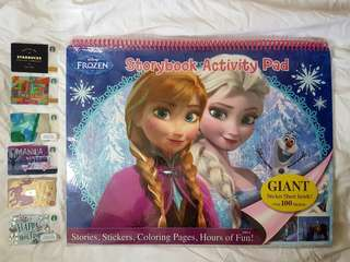 Frozen Activity and Coloring Pad