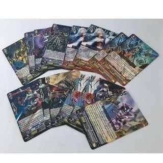 Set of 100+ Cardfight!! Vanguard Cards