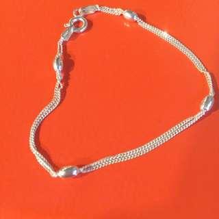 🚚 米珠925銀手鍊