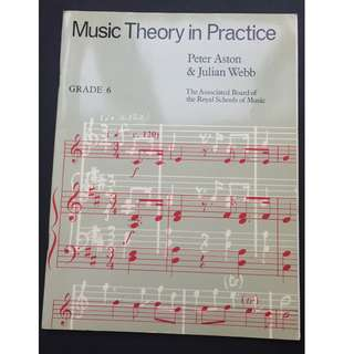Music Theory in Practice ( Piano Book ) Grade 6