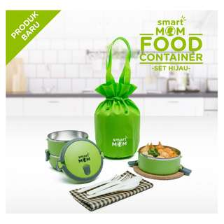 Smart Mom Food Container Set Ungu